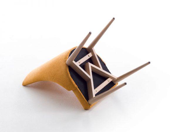 silla de diseño detalle cruceta