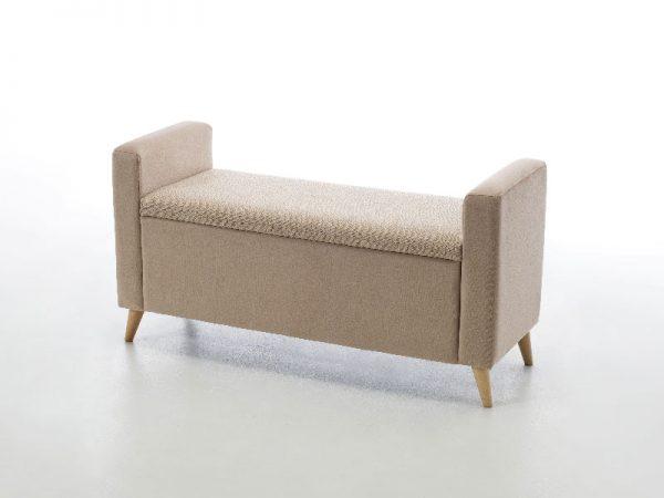 baúl tapizado marmo