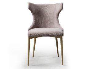 silla tapizada de diseño ears